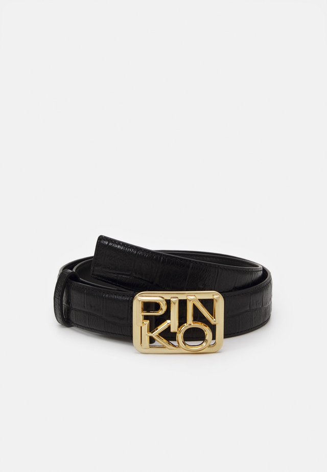 FISCHIO SMALL BELT - Skärp - black