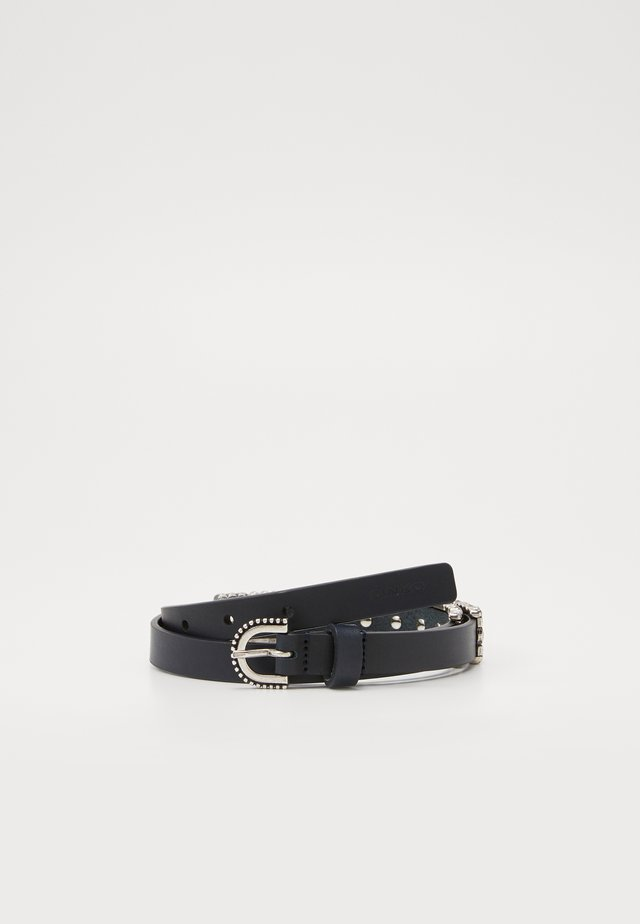 PIGOLIO BELT - Skärp - black