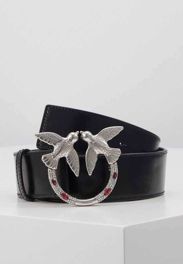 BERRY JEWEL BELT - Skärp - black