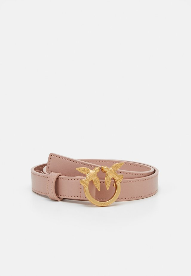BBERRY SMALL SIMPLY BELT - Skärp - light pink