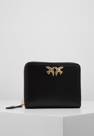 TAYLOR SIMPLY ZIP AROUND M VITELLO SETA - Wallet - black