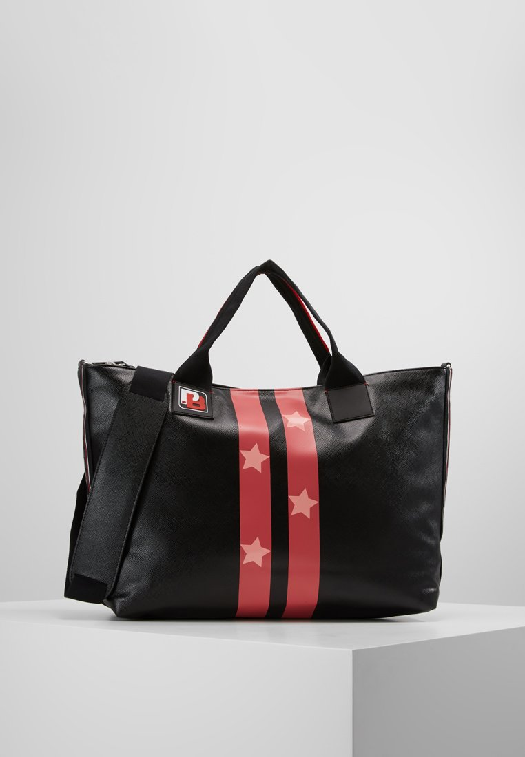 Pinko - TANGENZIALE SHOPPING - Bolso shopping - nero/rosso