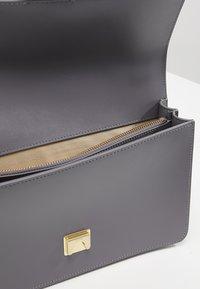Pinko - LOVE SIMPLY SHOULDER - Across body bag - dark grey - 4