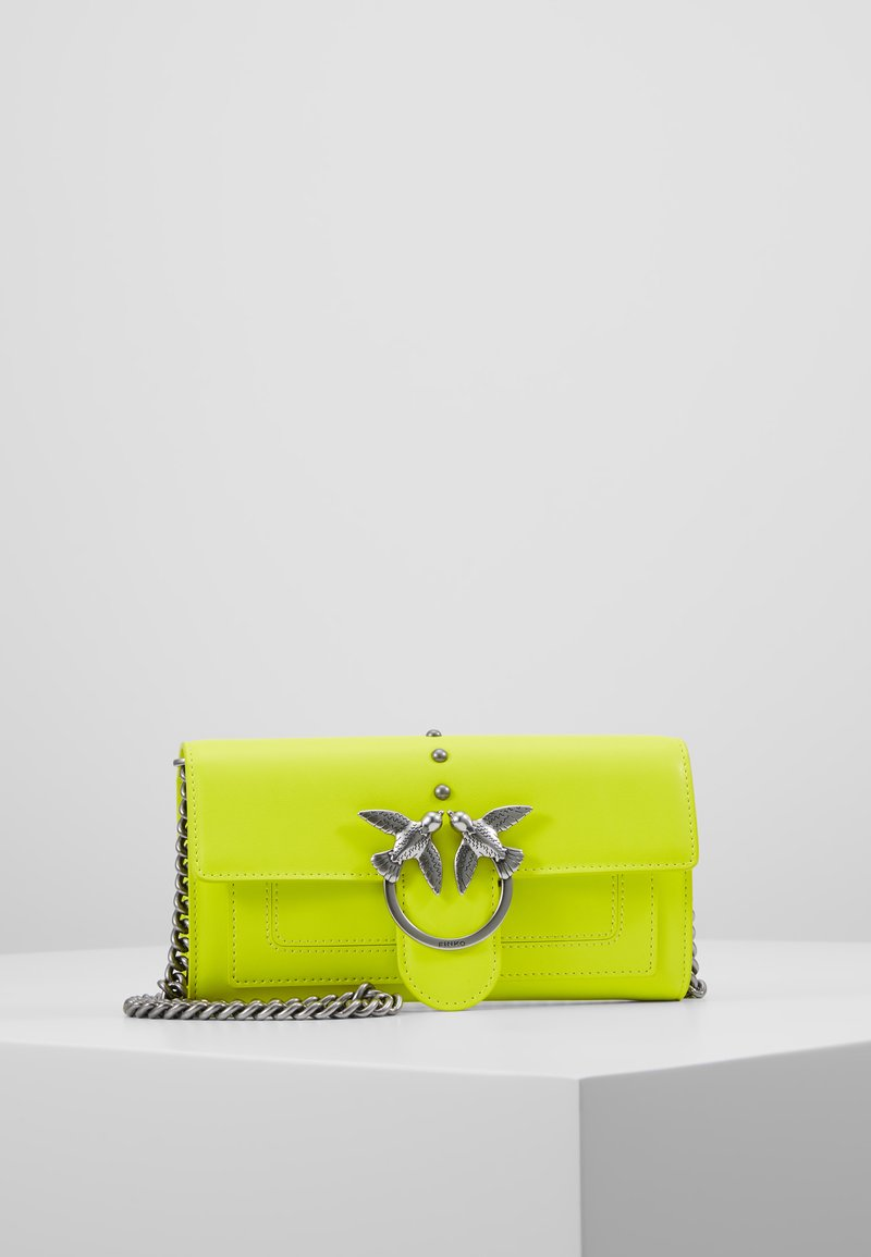 Shoulder With SetaSac Vitello Yellow Pinko Houston Wallet Bandoulière kZ0N8wOnPX