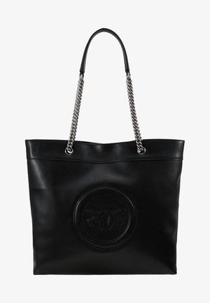 LOVE NEW MONOGRAM - Shopping bag - black