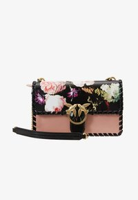 Pinko - LOVE FLOWER           - Håndveske - light pink/black - 5