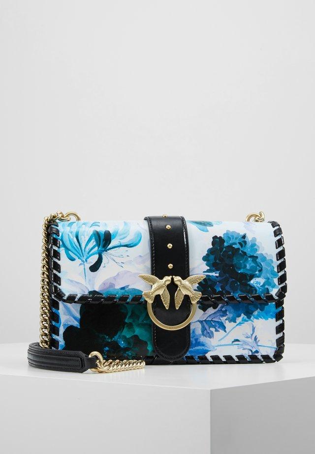 LOVE FLOWER  - Handtasche - bianco/blue/verde