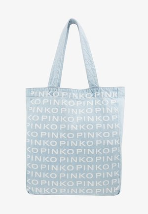 RIGIDO - Tote bag - light blue denim