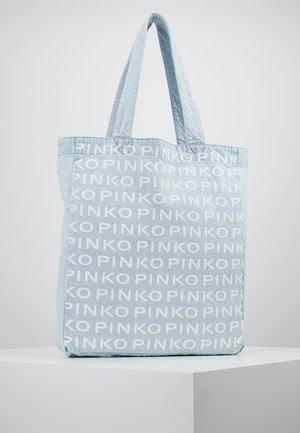 RIGIDO - Shopping bag - light blue denim