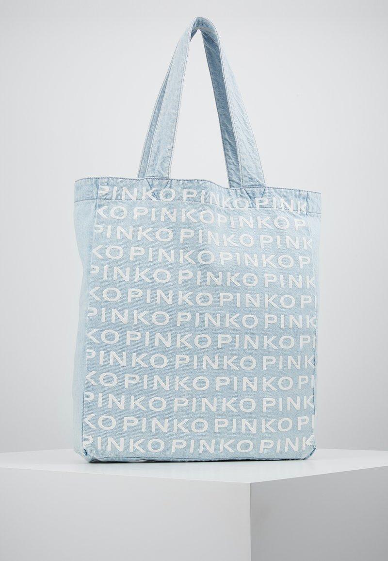 Pinko - RIGIDO - Torba na zakupy - light blue denim