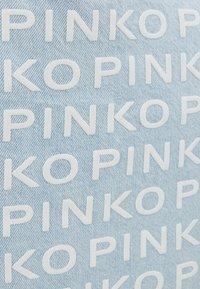 Pinko - RIGIDO - Torba na zakupy - light blue denim - 6
