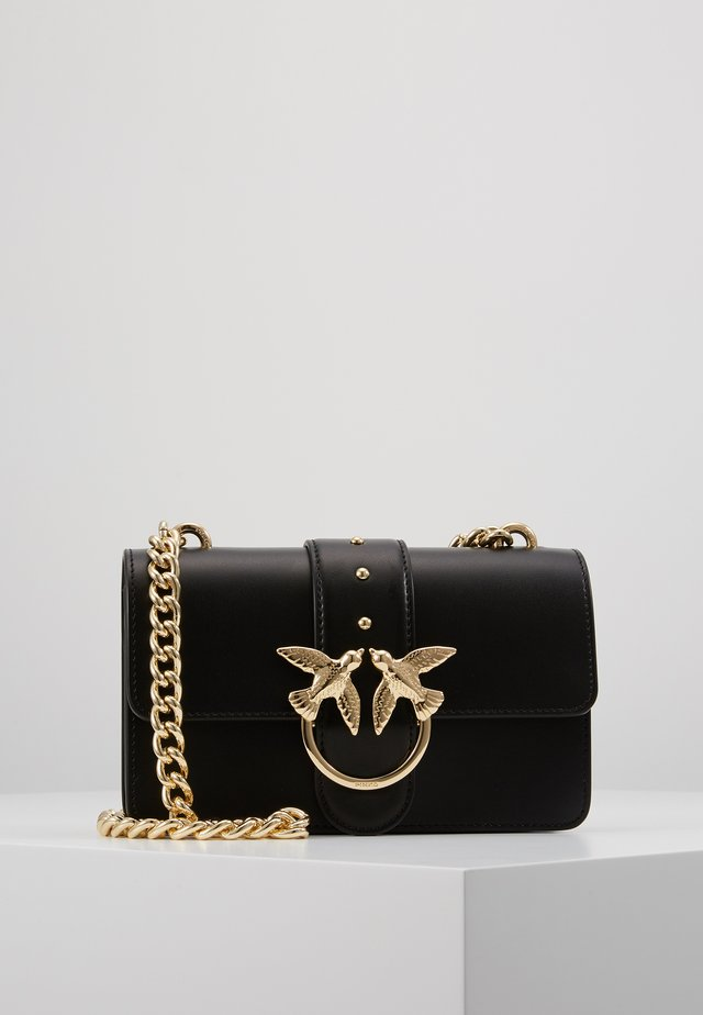 LOVE MINI SIMPLY - Borsa a tracolla - black