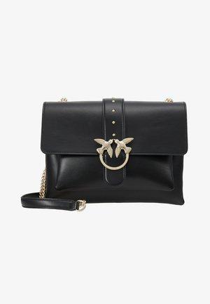 LOVE BIG SOFT SIMPLY  - Across body bag - black