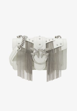 LOVE MINI FRINGES - Skulderveske - white