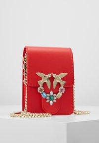 Pinko - LOVE SMART JEWELS - Across body bag - red - 0