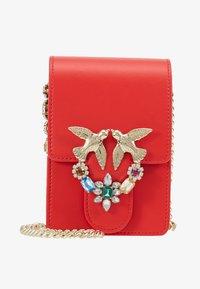 Pinko - LOVE SMART JEWELS - Across body bag - red - 6