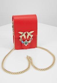 Pinko - LOVE SMART JEWELS - Across body bag - red - 5