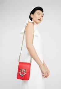 Pinko - LOVE SMART JEWELS - Across body bag - red - 1