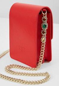 Pinko - LOVE SMART JEWELS - Across body bag - red - 7