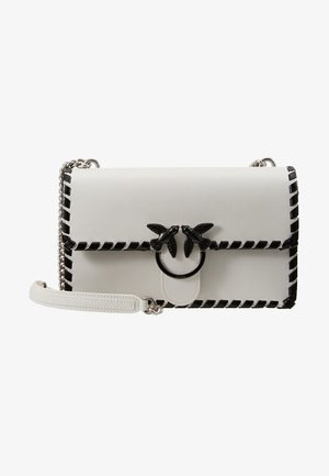 LOVE CLASSIC TWIST VINTAGE - Across body bag - bianco/nero