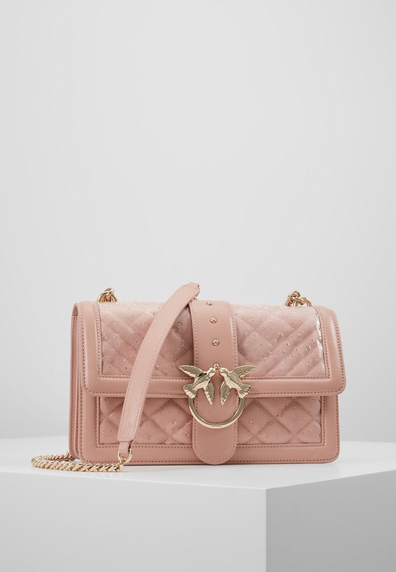 Pinko - LOVE CLASSIC RAIN - Umhängetasche - light pink