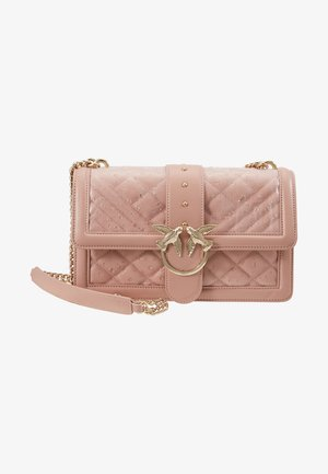LOVE CLASSIC RAIN - Across body bag - light pink
