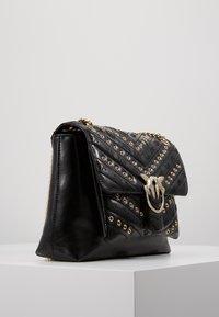 Pinko - LOVE LADY EYELETS VINTAGE - Across body bag - black - 3