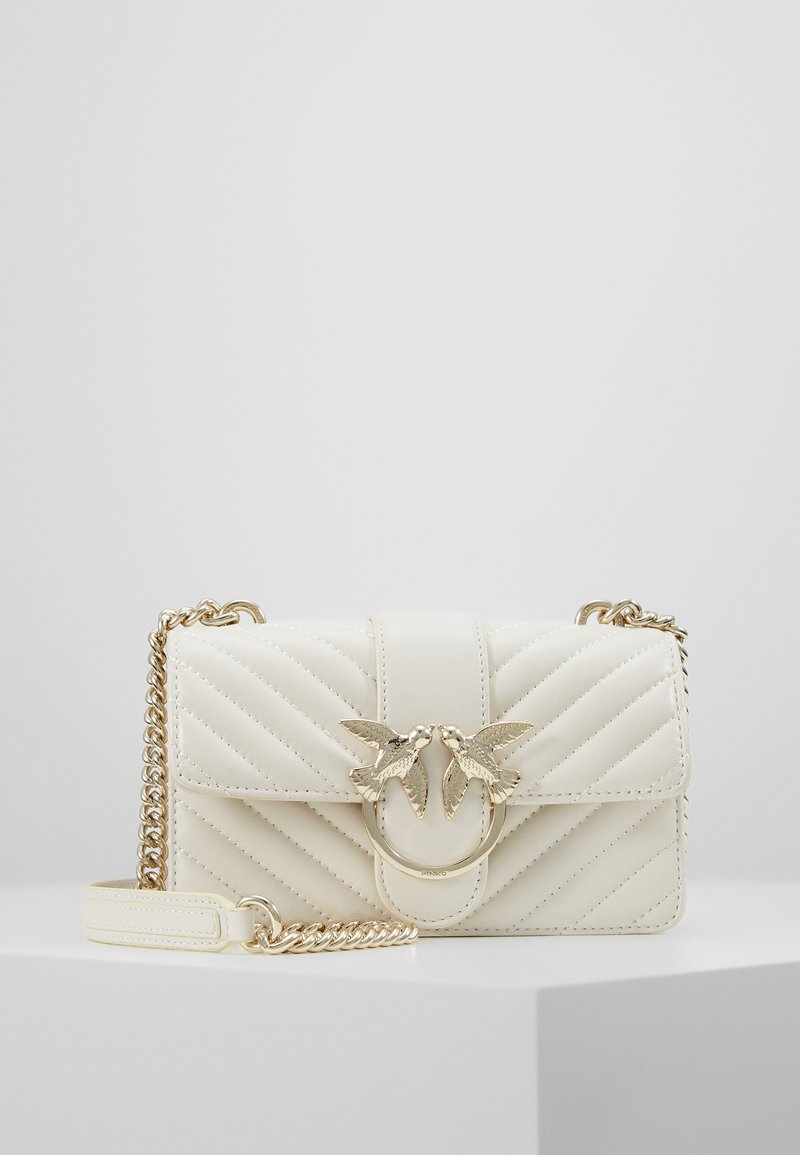Pinko - LOVE MINI MIX  - Sac bandoulière - white