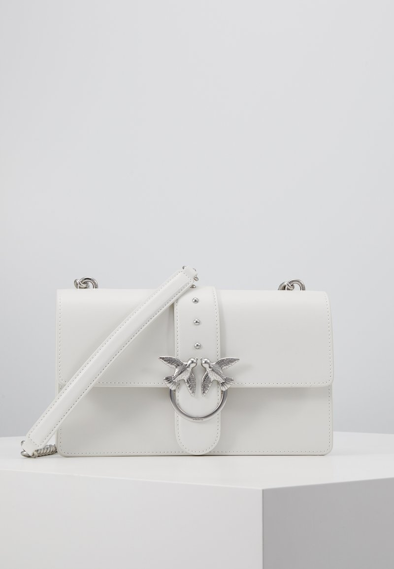 Pinko - LOVE CLASSIC SIMPLY  - Borsa a tracolla - white