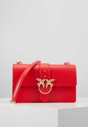 LOVE CLASSIC SIMPLY  - Across body bag - red