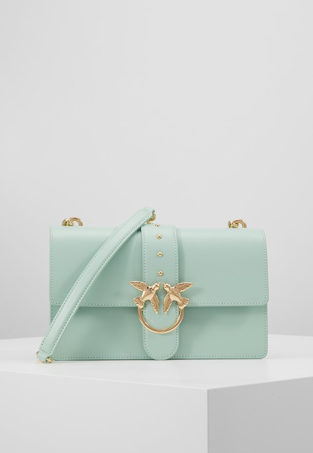 LOVE CLASSIC SIMPLY  - Taška spříčným popruhem - aqua green