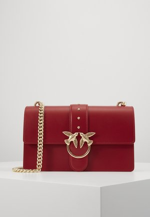 LOVE CLASSIC - Across body bag - bordeaux