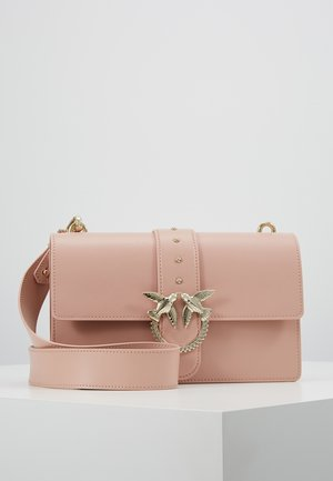 LOVE CLASSIC STRAP - Across body bag - dust pink