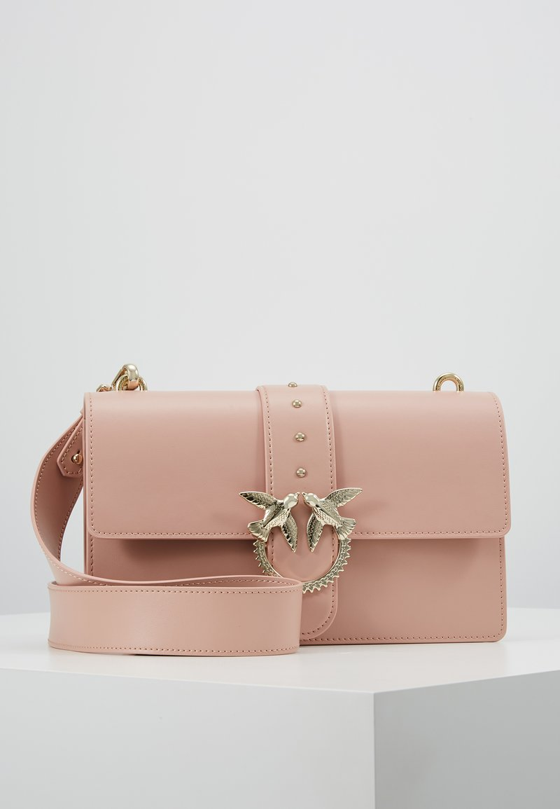 Pinko - LOVE CLASSIC STRAP - Across body bag - dust pink
