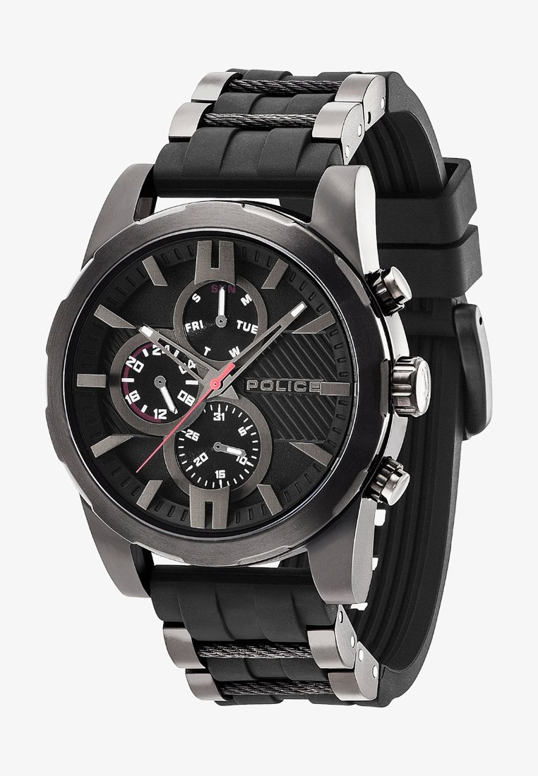 Police - MATCHCORD   - Chronograph watch - schwarz