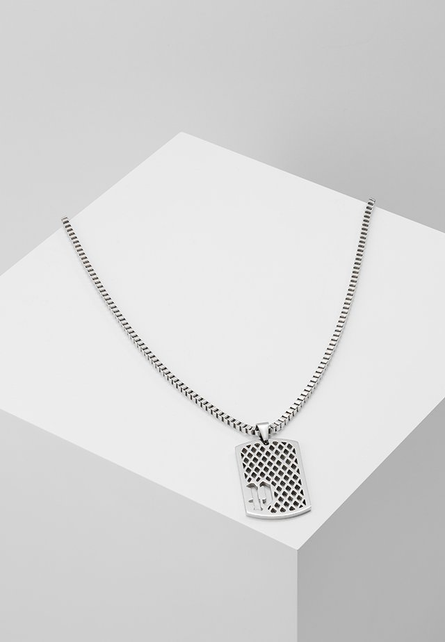 PENDANT NECKLACE - Necklace - silver-coloured