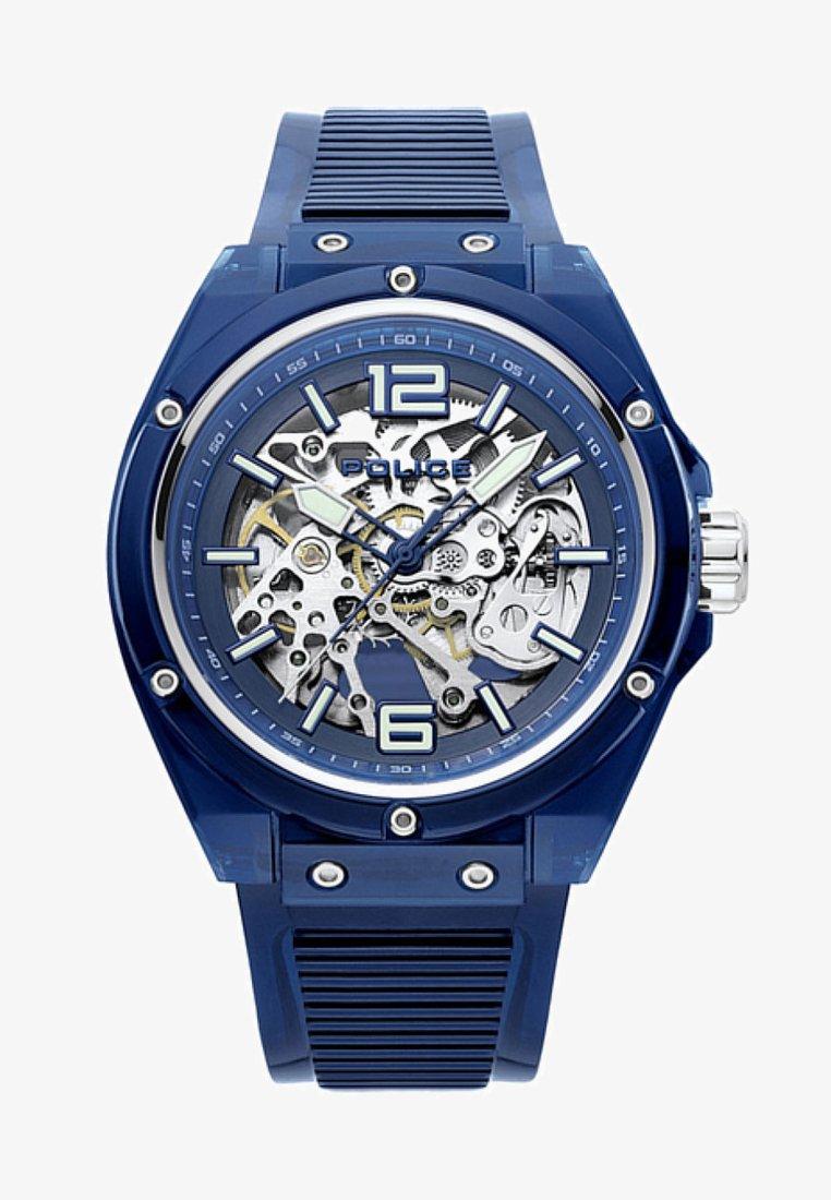 Police - Uhr - blue