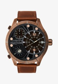 Police - BUSHMASTER - Uhr - brown/gold - 1