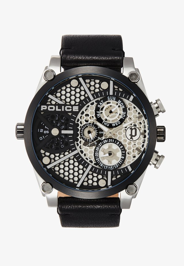 VIGOR - Watch - silver/black