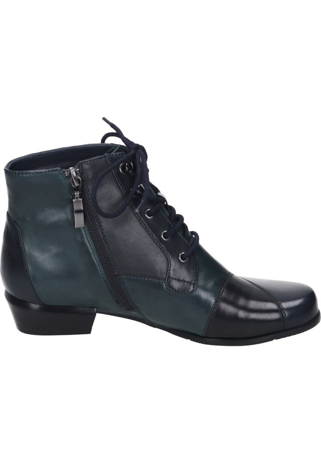 Ankle boots - navy/petrolio