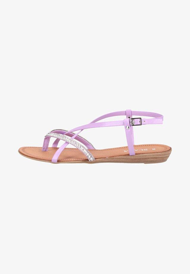 Sandals - lavender