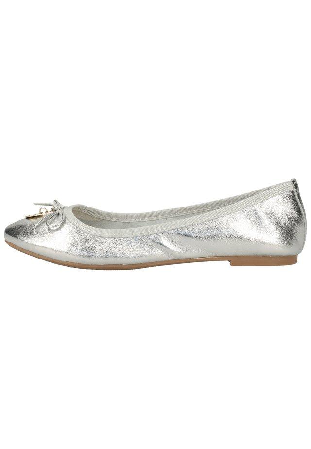 BALLERINAS - Ballet pumps - argento 830