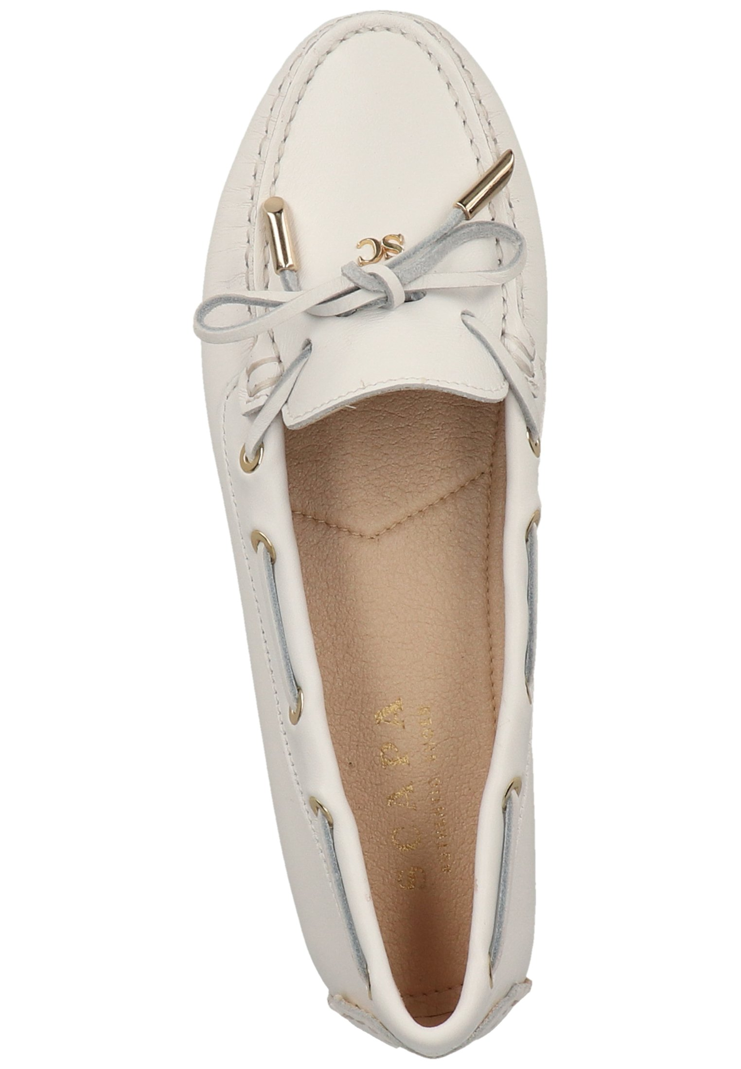 Scapa Chaussures Bateau - White