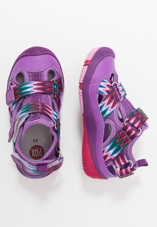 SAVIOR - Walking sandals - purple