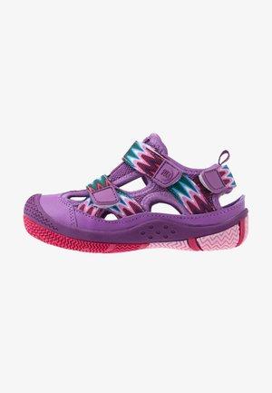 SAVIOR - Walking sandals - purple