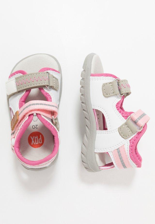SURFA - Chodecké sandály - white