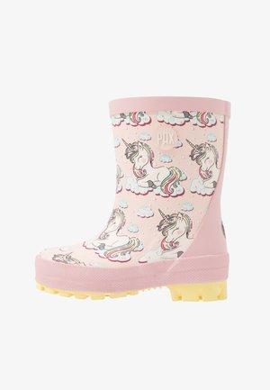 UNICORN - Bottes en caoutchouc - pink/multicolor