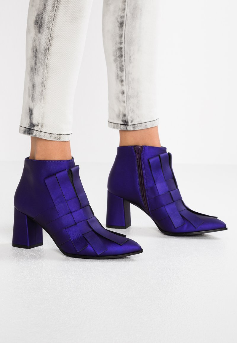 Paco Gil - CLAIRE - Boots à talons - violet galaxy