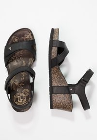 Panama Jack - JULIA BASICS - Platform sandals - black - 3