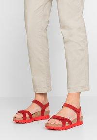 Panama Jack - SULIA MENORCA - Platform sandals - rojo/red - 0